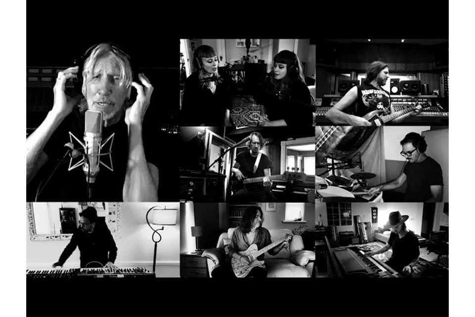 ロジャー・ウォーターズ、「Vera」と「Bring the Boys Back Home」のリモート・セッション映像公開