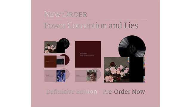 ニュー・オーダー1983年の「Power, Corruption & Lies」、ボックスセットで10月発売