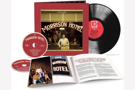ドアーズのアルバム『Morrison Hotel』、50周年記念デラックス・エディション10月発売