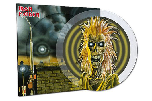 アイアン・メイデンのデビュー・アルバム、40周年記念の限定版ピクチャー・ディスク発売
