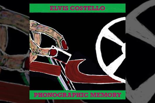 エルヴィス・コステロ、10月発売のニュー・アルバムに未収録の新曲「Phonographic Memory」をリリース