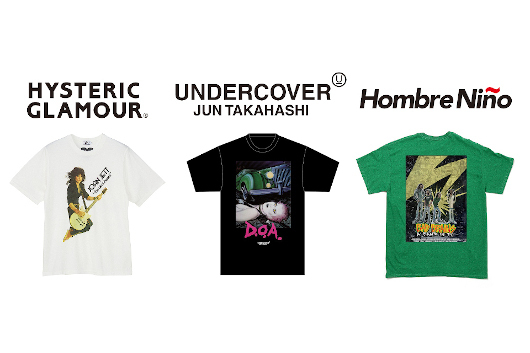 商業主義の真逆を突き進む音楽映画フェス〈UNDERDOCS〉へファッション界からエール! 強力な3ブランドが上映作とのコラボ T シャツを発売!