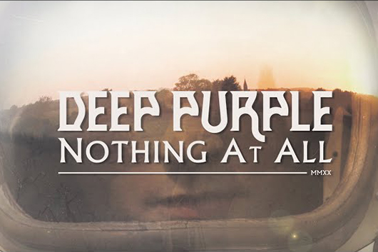 ディープ・パープル、最新アルバムから「Nothing At All」のミュージック・ビデオ公開