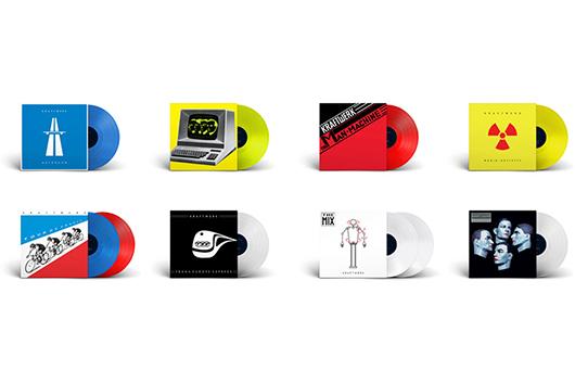 クラフトワークのアルバム8タイトル、限定版カラー・ヴァイナルでリイシュー
