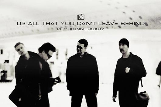 U2『オール・ザット・ユー・キャント・リーヴ・ビハインド』20周年記念として数種類のフォーマットの発売が決定!