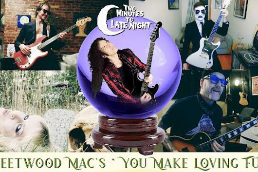 マーティ・フリードマン、フリードウッド・マックの「You Make Loving Fun」をカヴァー