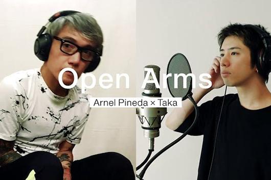 ジャーニーのアーネル・ピネダとONE OK ROCKのTaka、「Open Arms」をヴァーチャル・セッション