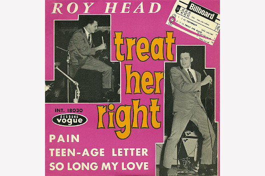 「Treat Her Right」で知られる60年代ロッカー、ロイ・ヘッドが79歳で死去