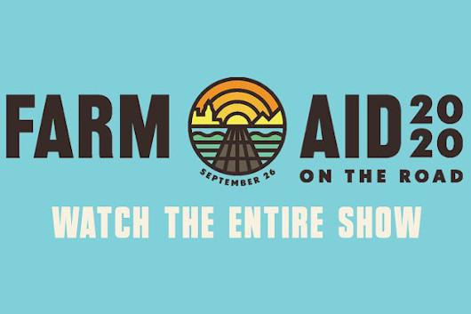 ヴァーチャル・チャリティ・コンサート「Farm Aid 2020」のフル映像公開