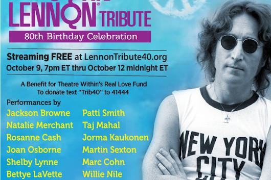 パティ・スミスやジャクソン・ブラウンが出演するジョン・レノンの追悼チャリティ・コンサート、日本時間10月10日午前8時から無料配信