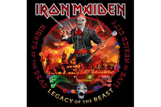 アイアン・メイデンの最新ライヴ・アルバム『Live in Mexico City』、11月発売