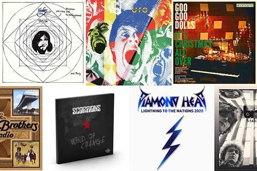 今週のワーナー輸入盤情報! キンクス、UFO、クリス・レア、スコーピオンズ、a-haの前身バンドの音源など今週も見逃せないものばかり!