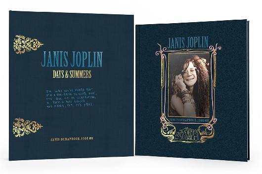 ジャニス・ジョプリン1966年~1968年のスクラップブック、2021年3月に限定本で発売