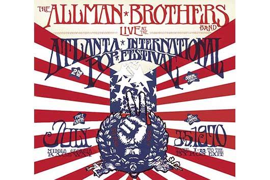 オールマン・ブラザーズ1970年『アトランタ・ポップ・フェスティバル』のライヴ・アルバム、デジタルとCDでリイシュー
