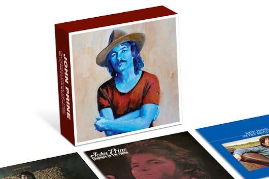 ジョン・プライン、初期のアルバムを収録したボックスセット『Crooked Piece of Time』発売