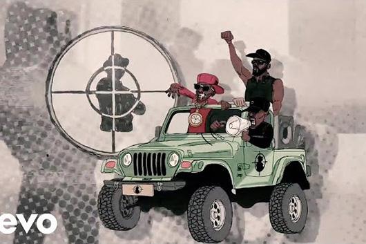 パブリック・エネミー、「Public Enemy Number Won」のアニメーション・ミュージック・ビデオ公開