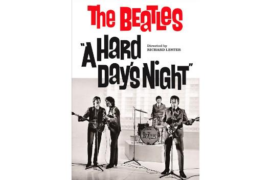 57年の時を超えてザ・ビートルズ『ハード・デイズ・ナイト』パッケージが世界初最高画質の4K Ultra HDブルーレイでリリース!