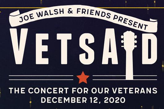 豪華アーティストが出演するジョー・ウォルシュ主催のヴァーチャル・チャリティ・コンサート「VetsAid」、12月12日開催