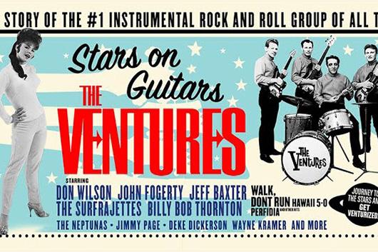 ベンチャーズのドキュメンタリー『The Ventures: Stars On Guitars』、12月8日DVD発売