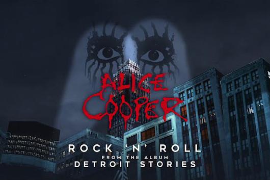 アリス・クーパー、新作からヴェルヴェット・アンダーグラウンドのカヴァー「Rock & Roll」公開