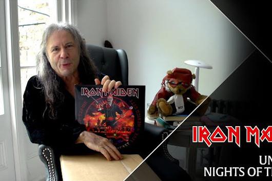 アイアン・メイデンの最新ライヴ・アルバム『Nights Of The Dead』、ブルース・ディッキンソンによる開封映像公開