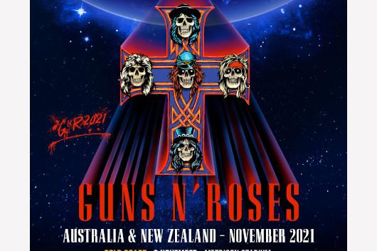 ガンズ・アンド・ローゼズ、2021年11月のオーストラリア/ニュージーランド・ツアーを発表