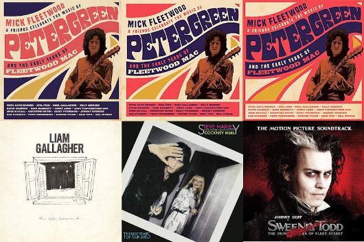今週のワーナー輸入盤情報、ピーター・グリーンのオールスター・トリビュート・コンサート、リアム・ギャラガー、コックニー・レベルなど!