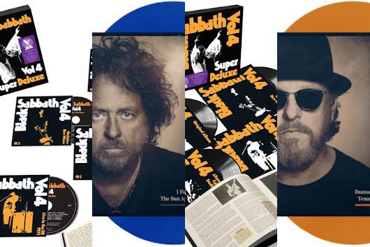 今週のワーナー輸入盤情報、目玉はブラック・サバスの『Vol4』の超拡大盤! この他新生TOTOのソロ2作のCD&LP!
