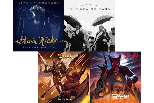 今週のワーナー輸入盤情報、スティーヴィー・ニックスとディオは共に豪華ライヴ盤、そしてニューオリンズのハリケーン被害ベネフィットのアナログ盤リイシューも!