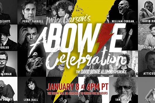 ボウイの生誕74周年記念イベント、アダム・ランバートやデュラン・デュランも出演