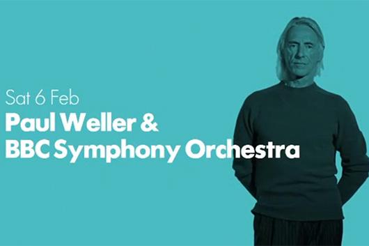 ポール・ウェラー、2021年2月にBBC交響楽団とコンサート開催
