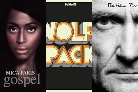 今週のワーナー輸入盤情報、フィル・コリンズの大ヒットしたソロ1st40周年記念盤と、ミーシャ・パリスとデウォルフ!