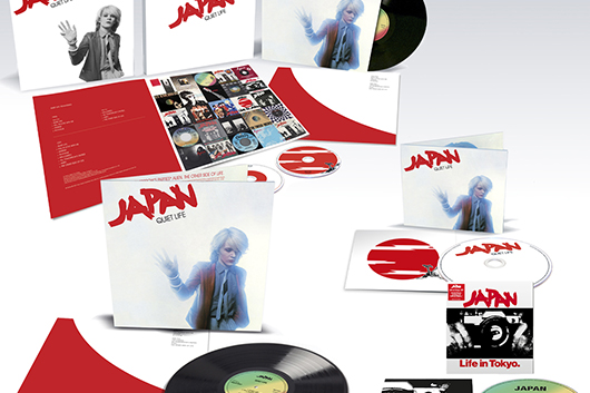 ジャパンのクラシック・アルバム『クワイエット・ライフ』が1LP+3CDのデラックス・エディションでリリース!