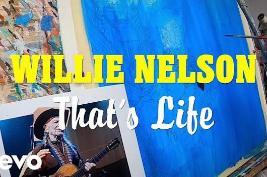 ウィリー・ネルソン、シナトラのカヴァー・アルバム『That's Life』からタイトル曲のリリック・ビデオ公開