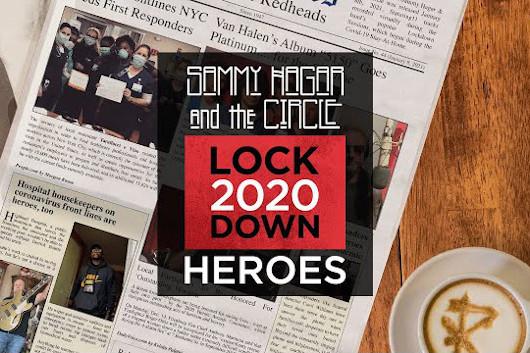 サミー・ヘイガー&ザ・サークル、ボウイの「Heroes」をカヴァーしたオフィシャル・ミュージック・ビデオ公開