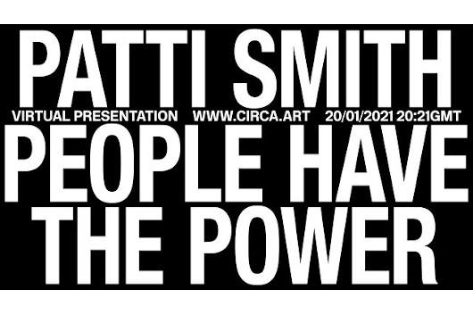 パティ・スミス、新大統領就任にあたり「People Have the Power」のパフォーマンス映像公開