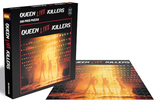 クイーン、アルバム・カヴァーのジグソーパズル、新たな3作が4月に発売