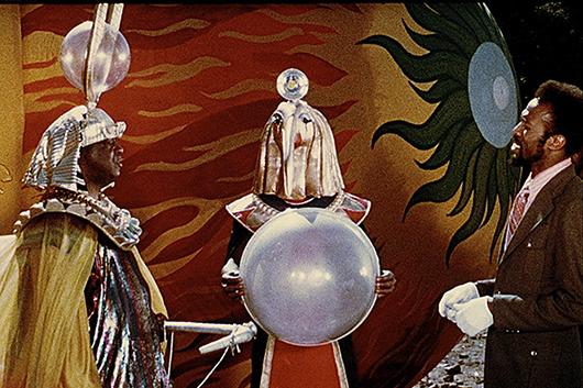 3月5日(金)公開の映画 『サン・ラーのスペース・イズ・ザ・プレイス』、ジム・ニューマン(88歳/地球人)よりメッセージ!
