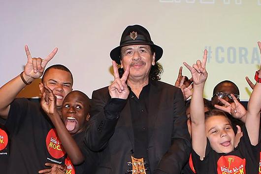ヴァーチャル・コンサート「Little Kids Rock」にサンタナ、ジェイムス・ヘットフィールド、トッド・ラングレンらが出演