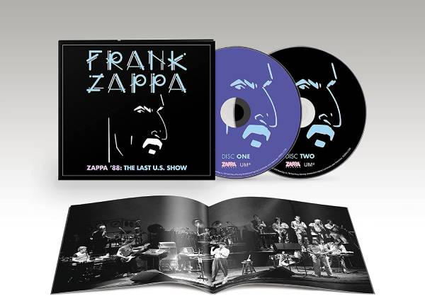 フランク・ザッパ最後のアメリカ公演を収録したライヴ・アルバム『Zappa '88』、6月発売