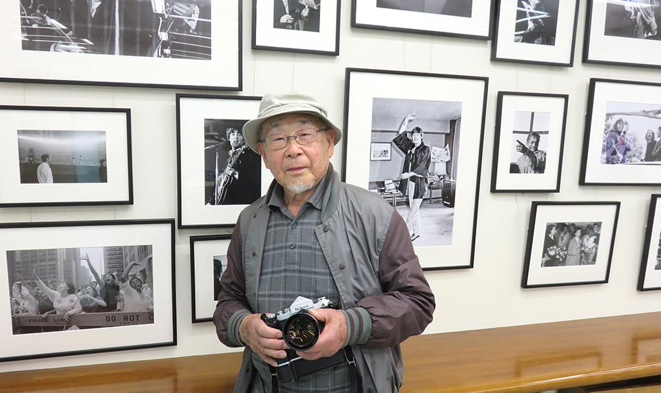 「『ROCK THE BEST PREMIUM EDITION 』発売記念 長谷部宏特別写真展」開催中