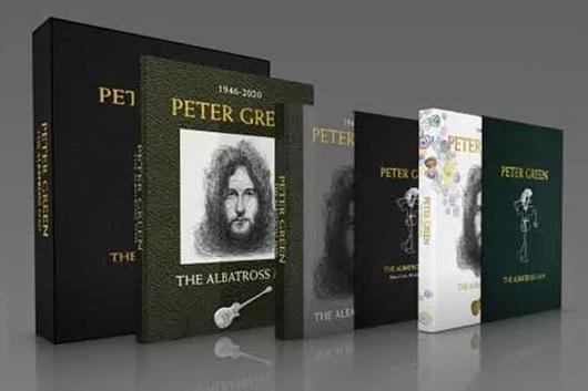 故ピーター・グリーンの豪華本『The Albatross Man』10月発売、デヴィッド・ギルモアとカーク・ハメットをフィーチャーした未発表音源付きのエディションも