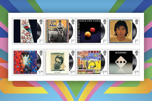 ポール・マッカートニーの切手シリーズ、5月28日発売