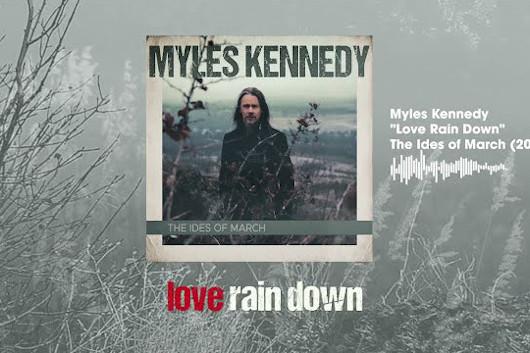 マイルス・ケネディ、新作『The Ides of March』からバラード曲「Love Rain Down」公開
