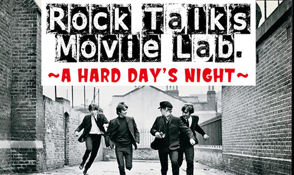 ビートルズは終わらない! ザ・ビートルズ初主演映画『ハード・デイズ・ナイト』が6月16日、トークと上映が同時進行する新イベント「Rock Talks Movie Lab.」にて上映決定!