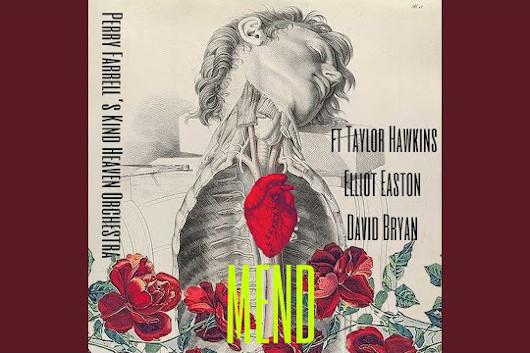 ペリー・ファレル率いるカインド・ヘヴン・オーケストラ、新曲「Mend」公開