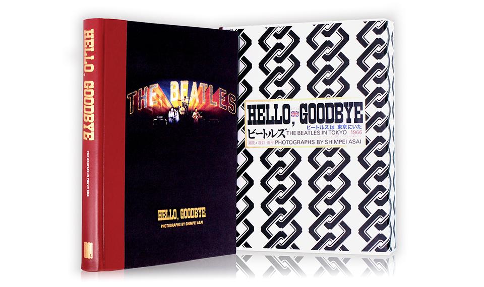 2021年、ザ・ビートルズのゲット・バック・イヤー、そして来日55周年を記念して豪華写真集『HELLO, GOODBYE~The Beatles in Tokyo 1966~』を特別輸入&再販売!