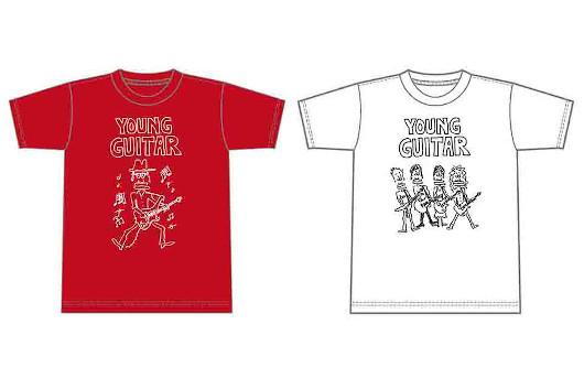 ポール・ギルバートとヤング・ギターの限定コラボTシャツ