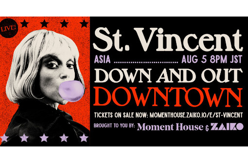 セイント・ヴィンセント、初のオンライン・コンサート8月開催決定! ジェイソン・フォークナー他の豪華バンド・メンバーにも注目!