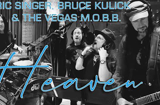 KISSのエリック・シンガーとブルース・キューリック、ブライアン・アダムスの「Heaven」をカヴァーしたMV公開